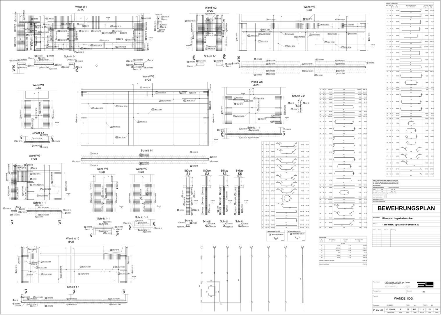 B ro f r tragwerksplanung und baustatik statische for Stahlbau statik beispiele